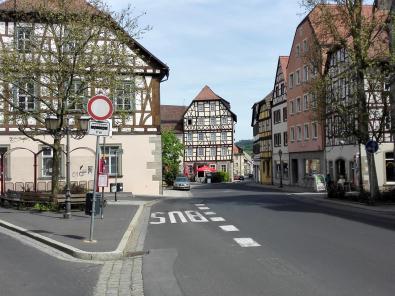 Marktplatz von Münnerstadt