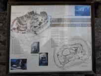 Infotafel zur Geschichte der Lichtenburg