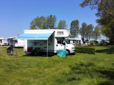 Rügen: Auf dem Campingplatz bei Juliusruh