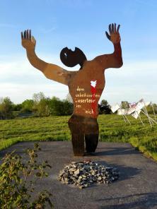 Denkmal: Auf der Flucht erschossen
