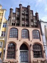 Prächtiges Haus an der Nordseite des Alten Marktes