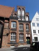 Typische Architektur der Backsteingotik