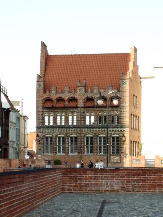 Historisches Gebäude an der Marienkirche