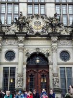 Portal am Haus der Bremer Kaufmannschaft