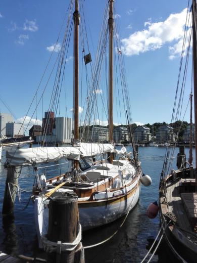 Schiffe im Museumshafen