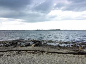 Blick von Holnis über die Flensburger Förde Richtung Dänemark