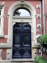 Portal an einem Bürgerhaus
