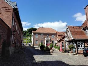Das Rathaus am Aufstieg zum Schlossberg
