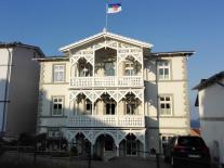 Typische Ostseebäder-Architektur in Sassnitz