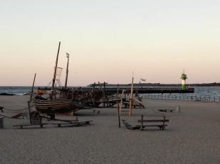 Kinderspielplatz am Strand von Travemünde