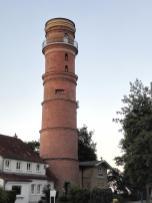 Der alte Leuchtturm von 1536, der älteste noch erhaltene in Deutschland