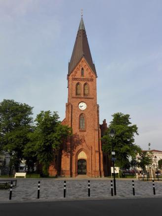 Die alte Kirche im Ortskern