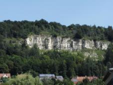 Jurakalkfelsen oberhalb von Beilngries