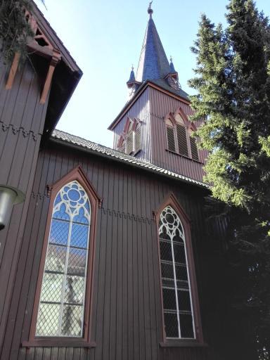 Die Tourist-Info ist in einer ehemaligen Kirche untergebracht