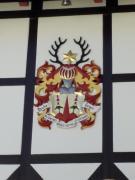 Wappen an einem Gasthof in Schierke