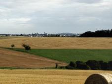 Blick von den Höhen Richtung Mösdorf