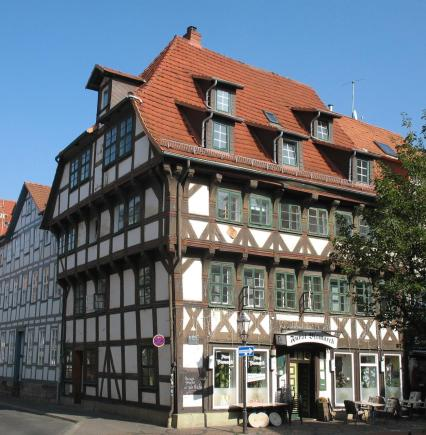 Markantes Fachwerkhaus von 1530 (Foto: Doris Antony   http://commons.wikimedia.org   Lizenz: CC BY-SA 3.0 DE)