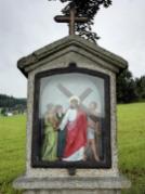 Kreuzwegstation am Aufstieg zur Wallfahrtskirche