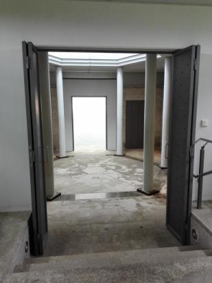 Im Inneren der jüdischen Erinnerungsstätte