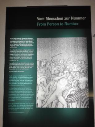 Entmenschlichung der Häftlinge bei der Aufnahme in das KZ