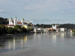 Blick auf die Altstadt von Passau