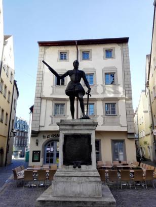 Denkmal des Don Juan de Austria, Sieger in der Seeschlacht von Lepanto