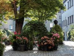Schöner Innenhof am Markt