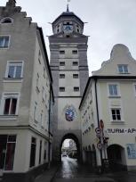 Der Stadtturm von der andren Seite