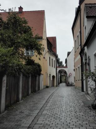 Altstadtgasse an der Stadtmauer