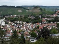 Beim Abstieg hinunter nach Weinsberg