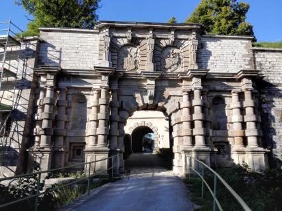 Portal der Wülzburg
