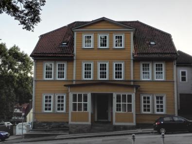 Holzhaus an der Salvatoriskirche