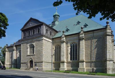 Die Salvatoriskirche in Zellerfeld (Foto: Johamar | http://commons.wikimedia.org | Lizenz: CC BY-SA 3.0 DE)
