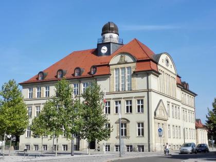 Universitätsbau an der Bauhausstraße