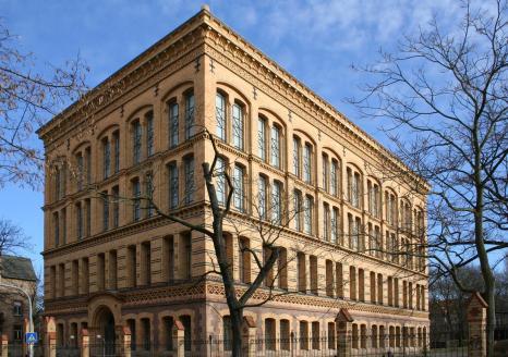 Bibliothek der Universität Halle (Foto: Michael Hanke   http://commons.wikimedia.org   Lizenz: CC BY-SA 3.0 DE)