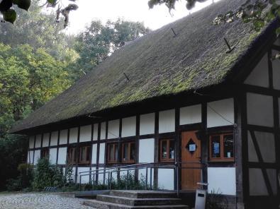 Museumsgebäude auf dem Gelände der Burg Lenzen