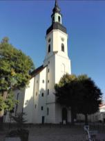 Die Stadtpfarrkirche am Marktplatz
