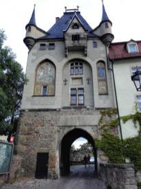 Tor am Zugang zum Schlossberg von der Unterstadt