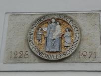 Wappen am Kloster Marienstern