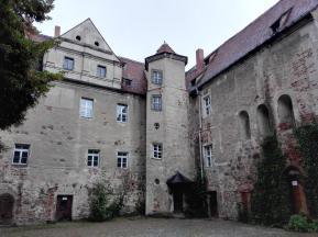 Innenhof des Schlosses