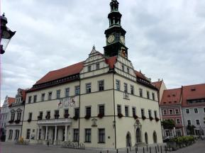 Das Rathaus von Pirna