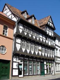 Fachwerkhaus in der Marktstraße (Foto: Thomas Wozniak | http://commons.wikimedia.org | Lizenz: CC BY-SA 3.0 DE)