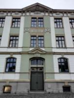 Portal des städtischen Gymnasiums