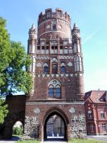 Uenglinger Tor, das einzige erhaltene mittelalterliche Stadttor