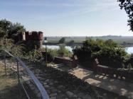 Blick von der Burg auf die Elbe