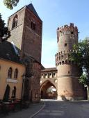 Stadttor von der Altstadt aus gesehen