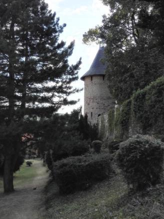 Reste der ehemaligen Stadtmauer