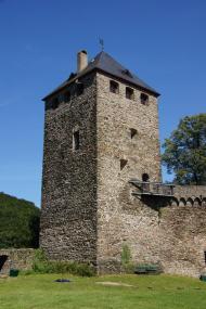 Bergfried der Burg Sayn (Foto: Tohma talk | http://commons.wikimedia.org | Lizenz: CC BY-SA 3.0 DE)