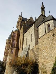 Blick hinauf zur Christuskapelle