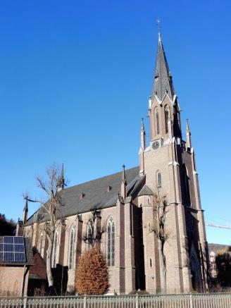 Die Dorfkirche von Gemünd